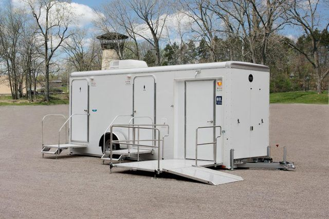 Bathroom Trailer Rentals Mobile