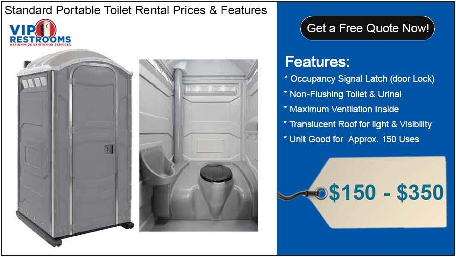 Basic Porta Potty Rental Price & Details